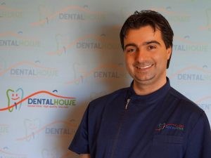 Piero Dattolo dentista della clinica per bambini Dental House Kids