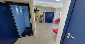 Scorcio della sala d'attesa della clinica Dental House Kids