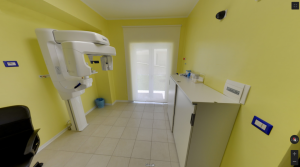 Sala TAC e RX della clinica Dental House Kids