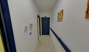 Corridoio secondo piano della clinica